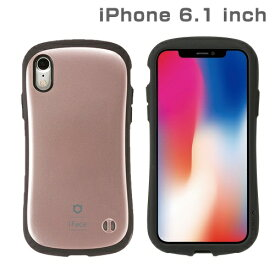 HAMEE ハミィ iPhone XR 6.1インチ用 インチ用専用iFace First Class Metallicケース(ローズゴールド) 41-896822