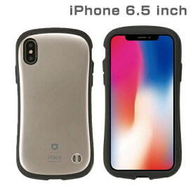 HAMEE ハミィ iPhone XS Max 6.5インチ専用iFace First Class Metallicケース(ゴールド) 41-897218
