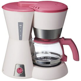 イデアインターナショナル IDEA INTERNATIONAL 4-CUPコーヒーメーカー 「My little series」 BOE046-PK ピンク[BOE046]