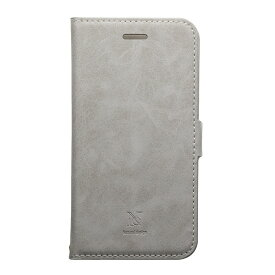 ナチュラルデザイン NATURAL design iPhone XR 6.1 手帳型ケース Style Natural Gray