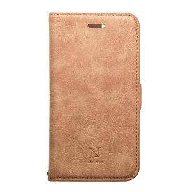 ナチュラルデザイン NATURAL design iPhone XR 6.1 手帳型ケース Style Natural Camel
