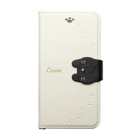 ナチュラルデザイン NATURAL design iPhone XR 6.1 手帳型ケース Cocotte White
