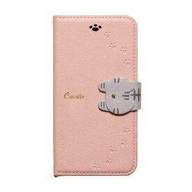 ナチュラルデザイン NATURAL design iPhone XR 6.1 手帳型ケース Cocotte Pink Beige