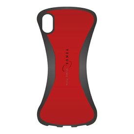 ナチュラルデザイン NATURAL design iPhone XR 6.1 背面ケース VENUS RED