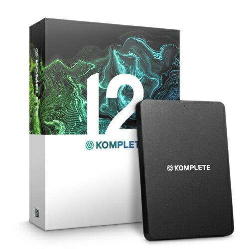 ネイティブインストゥルメンツ KOMPLETE 12(プラグインソフト)[KOMPLETE12]