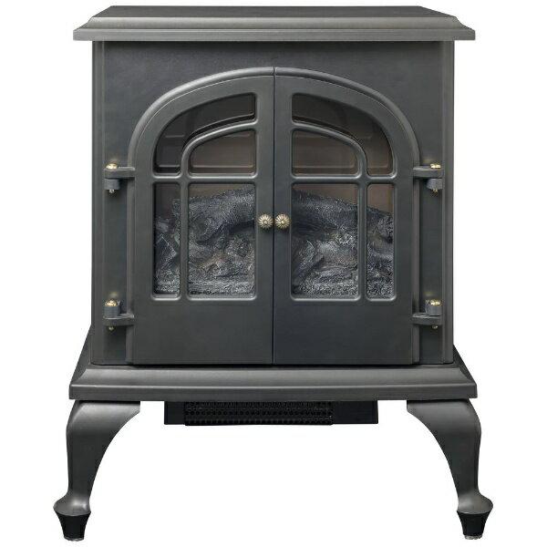 ヤマゼン YAMAZEN YDH-SL10P 電気ファンヒーター Electric Fireplace(エレクトリック・ファイヤープレイス) ブラック
