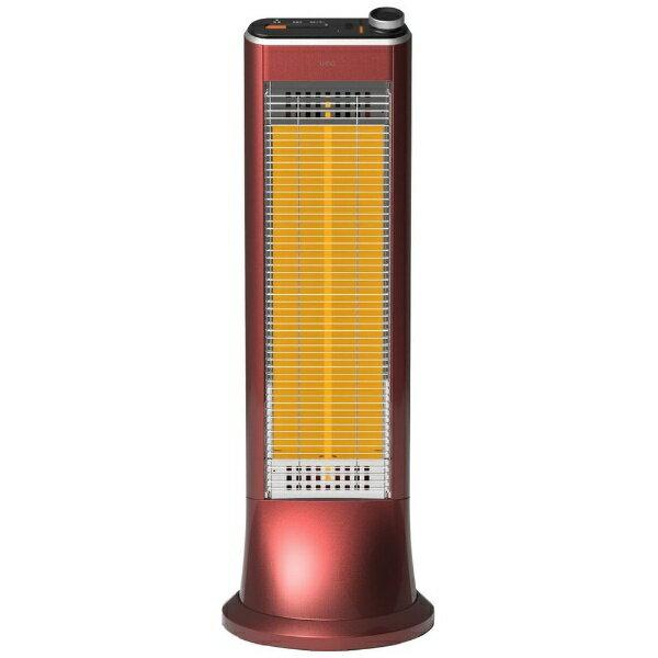 ユーイング UING 電気ストーブ US-CR900L-R ざくろレッド [カーボンヒーター][USCR900L]