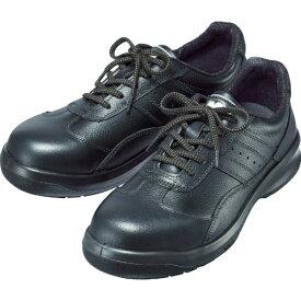 ミドリ安全 MIDORI ANZEN ミドリ安全 レザースニーカータイプ安全靴 BK 25.5cm