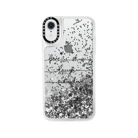 CASETIFY ケースティファイ iPhone XR 6.1インチ用 Glitter Case