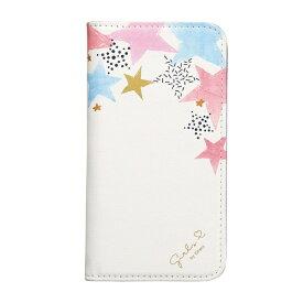 サンクレスト SUNCREST iPhone XR 6.1インチ用 CATFLIP Girlsi ホワイトスター