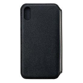 サンクレスト SUNCREST iPhone XR 6.1インチ用 NEWT CAT FLIP ブラック