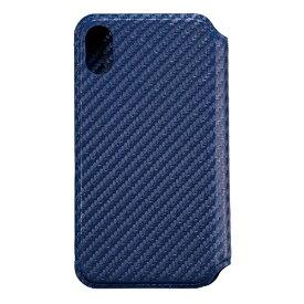 サンクレスト SUNCREST iPhone XS Max 6.5インチ用インチ用 NEWT CAT FLIP カーボンネイビー