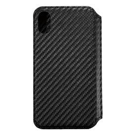 サンクレスト SUNCREST iPhone XS Max 6.5インチ用インチ用 NEWT CAT FLIP カーボンブラック