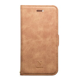 ナチュラルデザイン NATURAL design iPhone XS Max 6.5インチ用 手帳型ケース Style Natural Camel