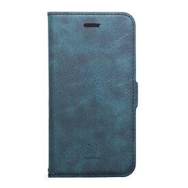 ナチュラルデザイン NATURAL design iPhone XS Max 6.5インチ用 手帳型ケース Style Natural Blue