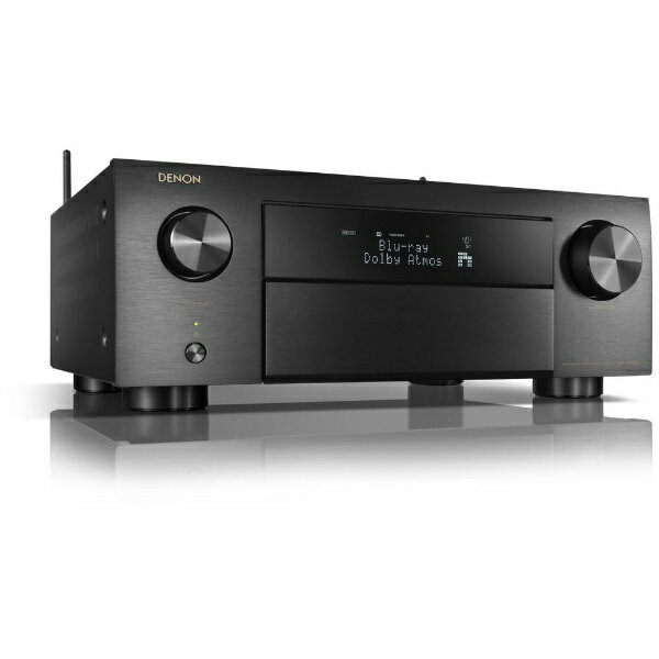 デノン Denon AVR-X4500H AVアンプ ブラック [ハイレゾ対応 /Bluetooth対応 /Wi-Fi対応 /ワイドFM対応 /9.2ch /DolbyAtmos対応][AVRX4500HK]