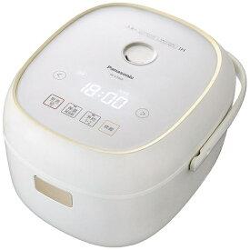 パナソニック Panasonic IH炊飯器 SR-KT068-W ホワイト [3.5合 /IH][SRKT068]