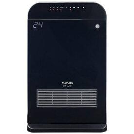 ヤマゼン YAMAZEN DHF-VJ12 電気ファンヒーター ブラック[DHFVJ12]