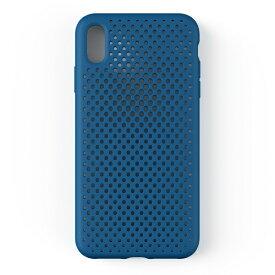 HAMEE ハミィ iPhone XS Max 6.5インチ専用AndMesh メッシュiPhone XS Max ケース(コバルトブルー) 612-958837