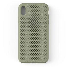 HAMEE ハミィ iPhone XS Max 6.5インチ専用AndMesh メッシュiPhone XS Max ケース(クレイグリーン) 612-958943