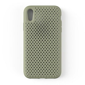 HAMEE ハミィ iPhone XR 6.1 インチ専用 AndMesh メッシュiPhone XRケース(クレイグリーン) 612-958950