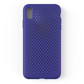 HAMEE ハミィ iPhone XS Max 6.5インチ専用AndMesh メッシュiPhone XS Max ケース(ネオブルー) 612-959162