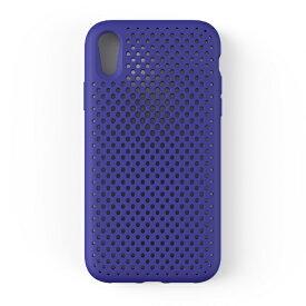 HAMEE ハミィ iPhone XR 6.1 インチ専用 AndMesh メッシュiPhone XRケース(ネオブルー) 612-959179