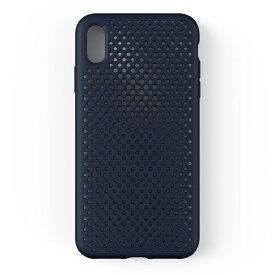 HAMEE ハミィ iPhone XS Max 6.5インチ専用AndMesh メッシュiPhone XS Max ケース(ネイビー) 612-959261