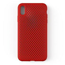 HAMEE ハミィ iPhone XS Max 6.5インチ専用AndMesh メッシュiPhone XS Max ケース(レッド) 612-959360