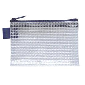 セキセイ SEKISEI メッシュケース カードサイズ azonx (アゾン) ブルー AZ-130-10