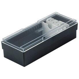 セキセイ SEKISEI CB-700 ネームカードボックス ブラック