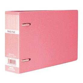 セキセイ SEKISEI F-232 ロックリングファイル B6-E ピンク