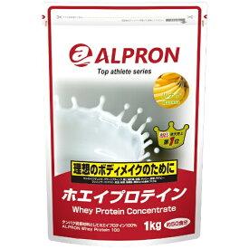 アルプロン ALPRON WPC ホエイプロテイン(バナナ風味/1kg)