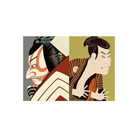 セキセイ SEKISEI PKN-738 パックンカバーノート高透明A5浮世絵 歌舞伎