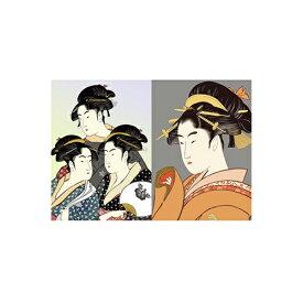 セキセイ SEKISEI PKN-739 パックンカバーノート高透明A5浮世絵 美人画