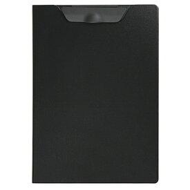 セキセイ SEKISEI FB-2116 クリップファイル<エクセレント>発泡美人 A4 ブラック