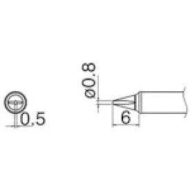 白光 HAKKO 白光 こて先 0.8WD型 T31-03WD08