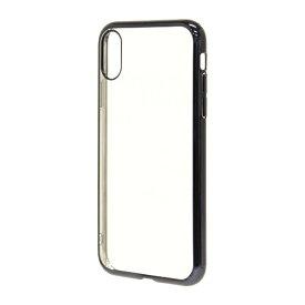 ラスタバナナ RastaBanana iPhone XS 5.8インチ / iPhone X用トライタンメタルフレームケース 4280IP858TR ブラック