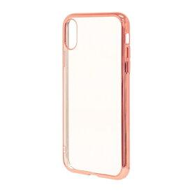 ラスタバナナ RastaBanana iPhone XS 5.8インチ / iPhone X用トライタンメタルフレームケース 4283IP858TR ローズゴールド