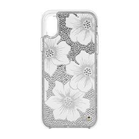 ケイト・スペード ニューヨーク kate spade new york iPhone XR 6.1インチ用 FULL CLEAR CRYSTAL(HOLLYHOCK)