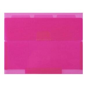 セキセイ SEKISEI NE-5435 ネオンワン ルーズリーフケースB5 ピンク