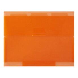 セキセイ SEKISEI NE-5435 ネオンワン ルーズリーフケースB5 オレンジ