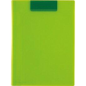 セキセイ SEKISEI ACT-5924 アクティフV クリップファイル 〈マグネプラス〉A4 ライトグリーン