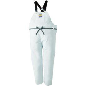 ロゴス LOGOS マリンエクセル 胸当て付きズボン膝当て付きサスペンダー式 ホワイト L 12063612