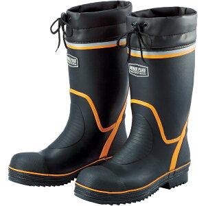 ミドリ安全 MIDORI ANZEN ミドリ安全 踏抜防止板・ワイド樹脂先芯入長靴 25.5cm