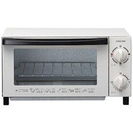 コイズミ KOIZUMI オーブントースター KOS-1025/W ホワイト[KOS1025W]