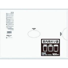 日本サニパック SANIPAK サニパック K−13 室内用ポリ袋 半透明 10L 100枚 K-13