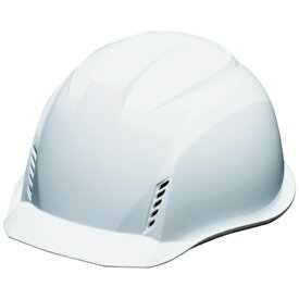 DICプラスチック ディーアイシープラスチック DIC AA16−W−HB型ヘルメット 白 AA16-HB-FV-W