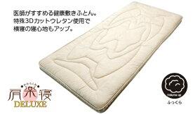 西川産業 NISHIKAWA 西川 肩楽寝DELUXE敷ふとん シングルロングサイズ(100×210cm/アイボリー) KCN2554500