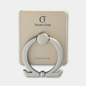 ビジョンネット 〔スマホリング〕Smart Grip Ω Ring Gold